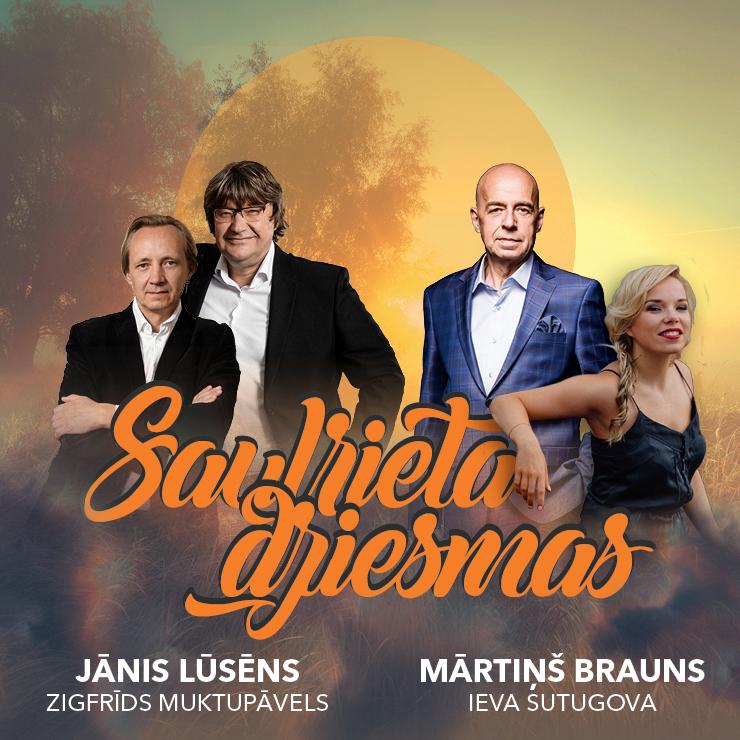 SAULRIETA DZIESMAS @ Siguldas Pilsdrupu estrāde | Sigulda | Latvija